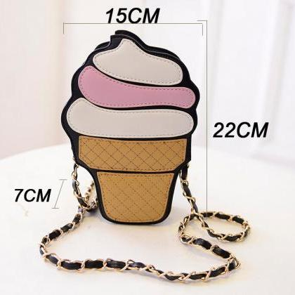 Quirky Ice-cream Chain Bag