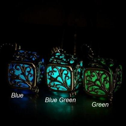 Glow In The Dark Teardrop Hollow Ch..