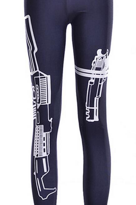 Printed Leggings Pants Sexy Slim Long Pencil Trousers/Fashion Tights/Yoga pant Lgs3529