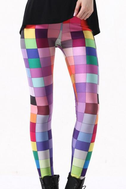 Printed Leggings Pants Sexy Slim Long Pencil Trousers/Fashion Tights/Yoga pant Lgs3127